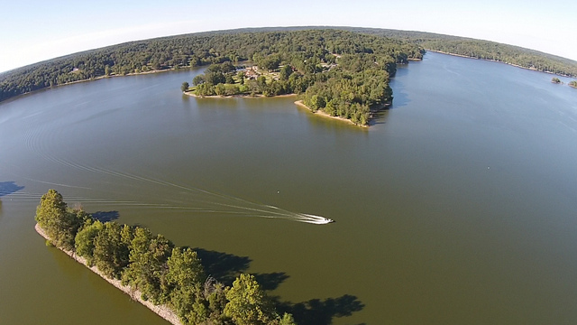 Lake Barkley Aerial View