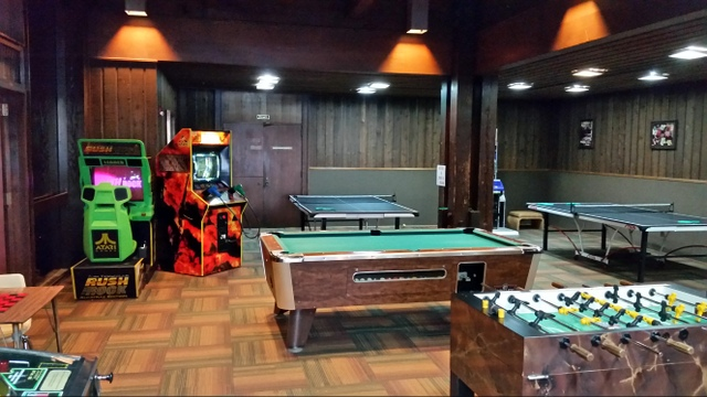 Game Room at Lake Barkley